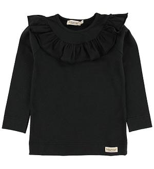 MarMar Bluse - Tessie - Jersey - Sort
