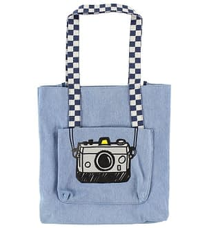 Stella McCartney Kids Shopper - Blå Denim m. Kamera