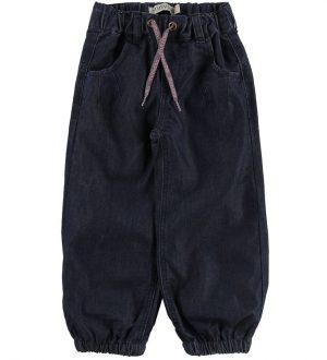 Minymo Bløde Jeans m. For - Baggy Fit - Denim m. Pink