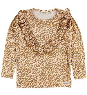 MarMar Bluse - Taren - Gold Leopard