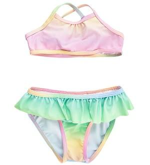 Creamie Bikini m. Flæse - UV50+ - Multifarvet