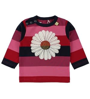 Danefæ Bluse - Pink/Navystribet m. Daisy