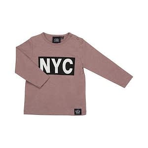 Petit By Sofie Schnoor Nyc Langærmet T-Shirt - Tøjstørrelser: 98