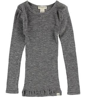 Minimalisma Bluse - Atlantic - Uld - Grey Melange