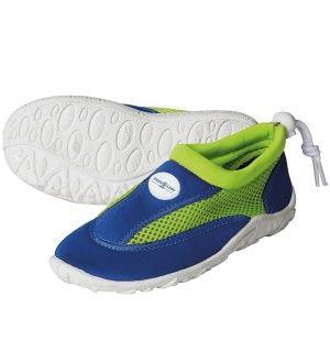 Aqua Lung Badesko - Cancun Jr - Royal Blue/Bright Green