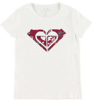 Roxy T-shirt - Endless - Creme m. Logo