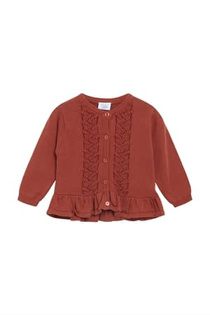 Hust & Claire Candie Cardigan - Rusty
