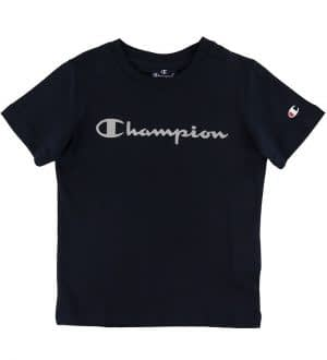 Champion T-shirt - Navy m. Logo