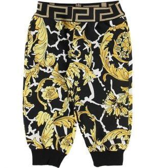 Versace Sweatpants - Sort m. Guldprint