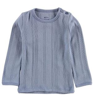 Noa Noa Miniature Bluse - Støvet Blå