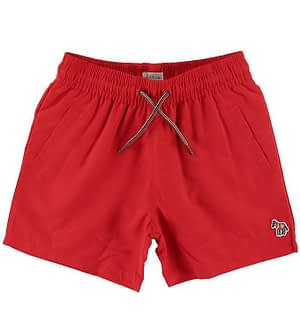 Paul Smith Junior Badeshorts - Andreas - Rød