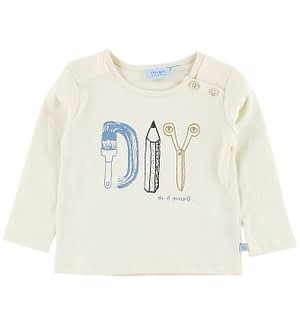 Noa Noa Miniature Bluse - Turtledove m. DIY