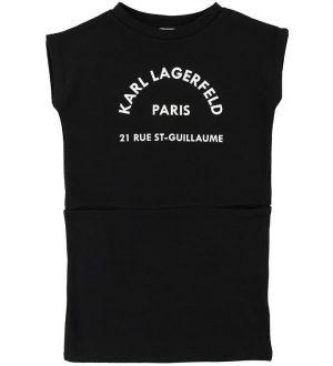 Karl Lagerfeld Sweatkjole - Sort