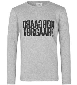 Mads Nørgaard Bluse - Tuvina - Grey Melange