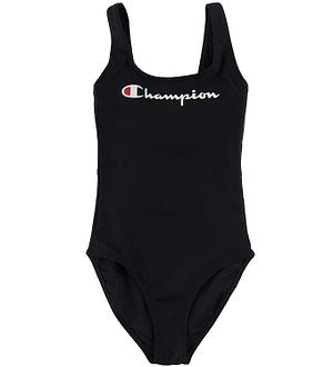 Champion Fashion Badedragt - Sort m. Logo