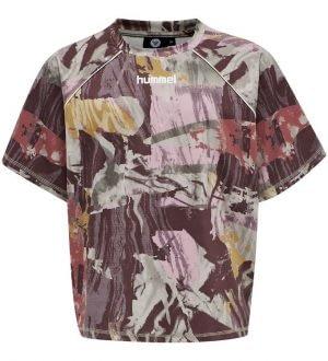 Hummel T-shirt - HMLPlena - Multifarvet