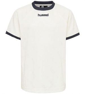 Hummel Teens T-shirt - HMLLucas - Cremehvid