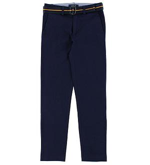 Polo Ralph Lauren Bukser - Super Skinny - Navy m. Bælte