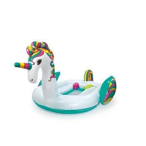 Unicorn Party Bade Ø 590 x 404CM - Bestway 43228