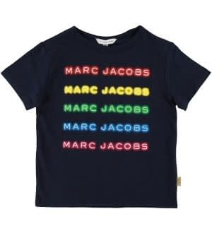 Little Marc Jacobs T-shirt - Navy m. Logo