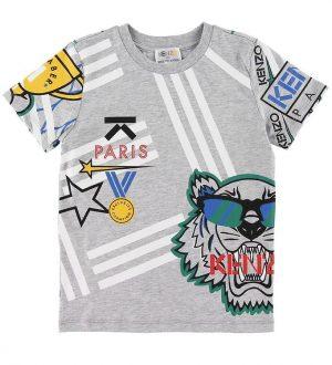 Kenzo T-shirt - Exclusive Edition - Gråmeleret