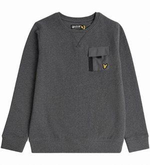 Lyle & Scott Sweatshirt - Charcoal Grey m. Lomme