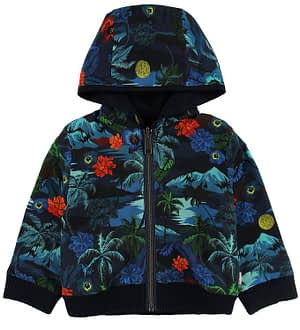 Paul Smith Baby Cardigan - Trail - Navy m. Print