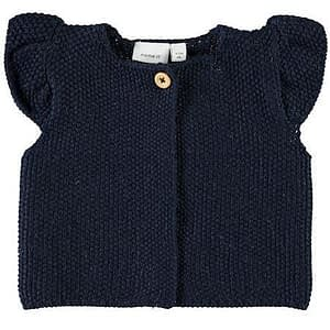 NAME IT Baby Strik Vest - Tøjstørrelser: 50