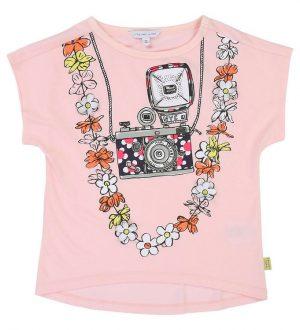 Little Marc Jacobs T-shirt - Lyserød m. Kamera