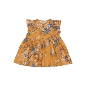 Christina Rohde Baby Dress AW20 - Yellow Floral