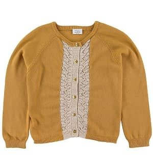 Hust and Claire Cardigan - Carrie - Gul