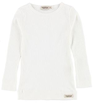MarMar Bluse - Rib - Hvid