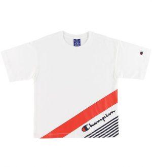 Champion Fashion T-shirt - Hvid m. Print
