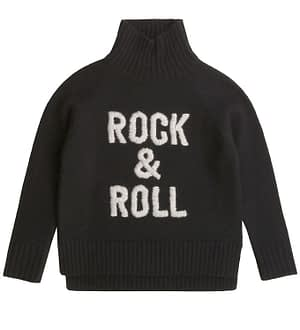 Zadig & Voltaire Bluse - Rock & Roll - Uld - Sort