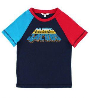 Little Marc Jacobs T-shirt - Navy m. Print