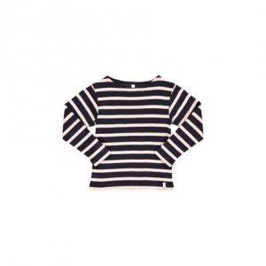 POPUPSHOP Bluse Med Striber - Tøjstørrelser: 128