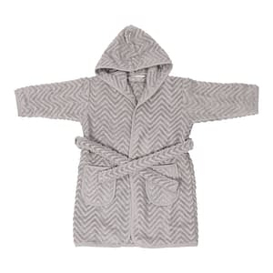Badekåbe - Zigzag Grey (3-4 år)