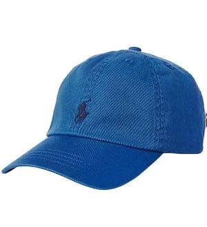 Polo Ralph Lauren Kasket - Blå m. Logo