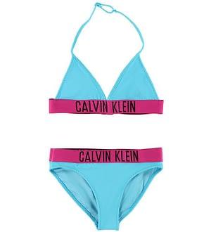 Calvin Klein Bikini - Blå/Pink