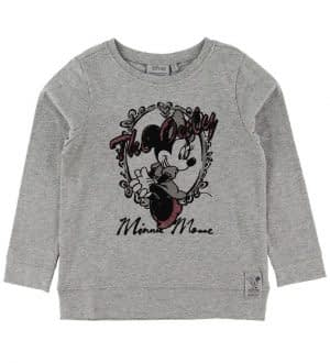 Wheat Disney Bluse - The Only - Meleret Grå