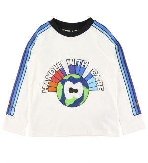 Stella McCartney Kids Bluse - Handle With Care - Hvid