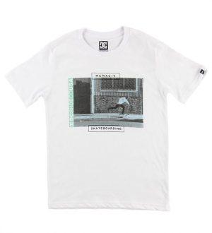 DC T-shirt - Tommy Push - Hvid