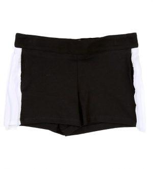 Karl Lagerfeld Shorts - Sort/Hvid m. Flæser