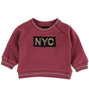 Petit by Sofie Schnoor Bluse - Quilted - Earth Red m. NYC