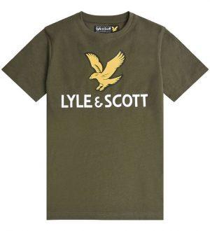 Lyle & Scott T-shirt - Grape Leaf m. Logo