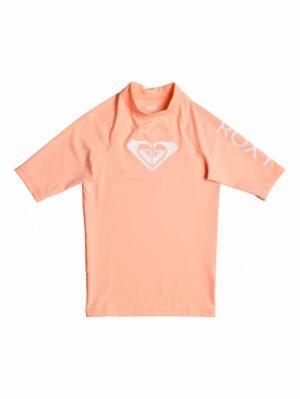 Roxy Whole Hearted - UPF 50+ Short Sleeve Rash Vest souffle