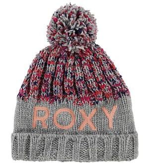 Roxy Hue - Strik - Grå m. Kvast/Logo