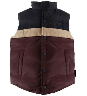 Emporio Armani Dunvest - Bordeaux/Navy m. Stribe