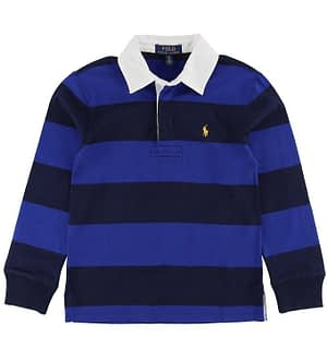 Polo Ralph Lauren Polo Bluse - Blå/Navystribet