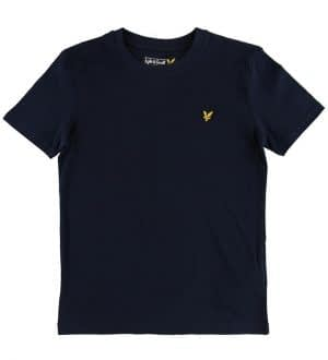 Lyle & Scott Junior T-shirt - Navy m. Logo